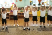 Физическая культура в группе «Солнышко»