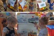 В группе «Карапузы» Прошла тематическая неделя «Транспорт»