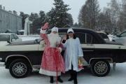 Парад Дедов Морозов и Снегурочек!